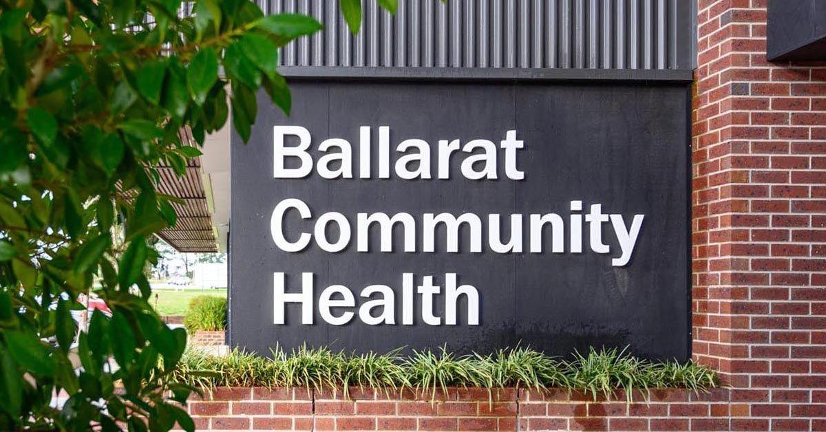 Maintaining Ballarat's community health